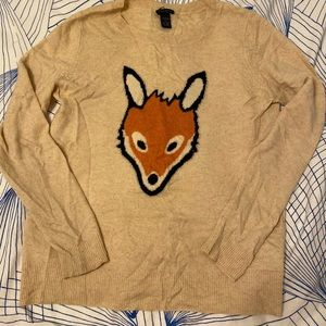 Only Mine Cashmere Sweater 🦊